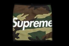 Supreme Camo Fleece Neck Gaitor Box Logo Bogo FW15 2015 DEADSTOCK