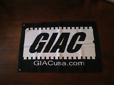"GIAC FABRIC FLAG/BANNER-NEW VERSION 35"" X 23"""