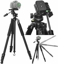 "80"" Elite Duty True Professional Tripod For Sony HDR-CX440 HDR-CX405 HDR-PJ440"