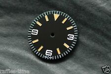 Plain Explorer Watch Dial for DG 2813 Movement Orange lume Markers