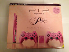SONY PLAYSTATION 2 PS2 SLIMLINE  PINK CONSOLE LIMITED EDITION   boxed