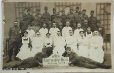 Italien, Bozen, Reservespital Bozen, Fotokarte 1917 (11794)
