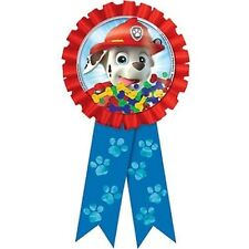 "6"" Paw Patrol Puppy Pets Party Favor Prize Confetti Award Ribbon Badge"