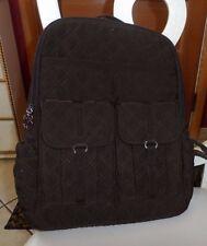 Vera Bradley Chocolate Brown Microfiber backpack