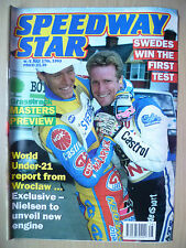 SPEEDWAY STAR, 17 July 1993- SWEDEN Win The First Test: Masters Preview