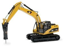 Norscot 55282 Caterpillar CAT 323D 1:50 DieCast Tracked Excavators w/Hammer