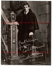 JONATHAN FRID AUTOGRAPHED 8x10 RP PHOTO BARNABAS COLLINS DARK SHADOWS
