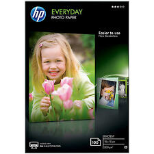 HP CR757A Everyday Glossy Photo Paper 10 x 15cm 200gsm White 100 Sheets