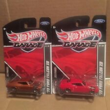 HOT WHEELS 2011 GARAGE '73 FORD FALCON XB LOT RED, COPPER '''VHTF'''