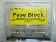 BLUE SEA SYSTEMS FUSE BLOCK PN: 5007 FOR CLASS T FUSES 110 TO 200 AMPERES 2/0AWG