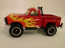 Matchbox FORD TRUCK  MB55 Flareside Pick-Up - Red with FLAMES - ROLLBAR NIB