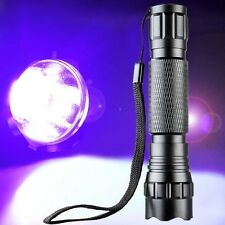 UltraFire WF-501B 3W 200lumen UV Ultraviolet Luxeon LED Flashlight Torch Lamp