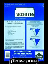 "50 GOLDEN AGE COMIC SIZE ARCHIVES MYLAR PROTECTIVE SLEEVES 8"" x 10 1/2"""