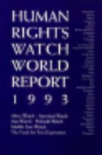 Human Rights Watch World Report 93 Human Rights Watch Paperback