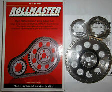 Holden Chevrolet 5.7 V8 LS1 Keyway Adjustable Rollmaster Billet Timing Gear Kit