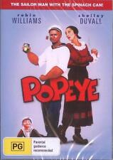 POPEYE - ROBIN WILLIAMS SHELLEY DUVALL COMEDY NEW DVD MOVIE SEALED