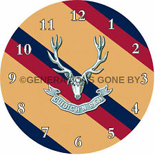 SEAFORTH HIGHLANDERS GLASS WALL CLOCK