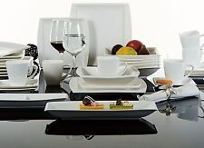 32pc Complete Dinner Set Ceramic Plates Cups Saucers Kitchen Dinning Service Set