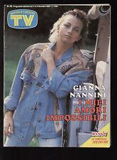SORRISI 49/1986 NANNINI BIM BUM BAM PHOEBE CATES DISNEY WORLD JERRY CALA' ROMA
