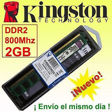 Memoria RAM DDR2  2GB 800 Mhz Kingston - ¡ NUEVA ! - NO COMPATIBLE CON INTEL