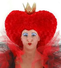 NEW Licensed Disney Alice In Wonderland Movie ADULT RED QUEEN HAT HEADDRESS
