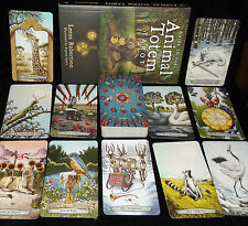 BRAND NEW & SEALED! ANIMAL TOTEM TAROT CARD & BOOK ORACLE POWERFUL GUIDES
