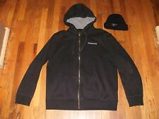 Timberland Zip Hoodie XL and Skull Hat Lot