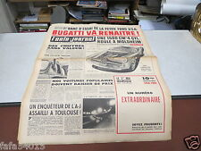 L AUTO JOURNAL N° 244 15 avril 1960 Bugatti va renaitre ! *