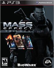 Mass Effect Trilogy Parts 1, 2, 3 - Playstation 3 BRAND NEW - FREE SHIPPING