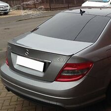 Painted Mercedes BENZ W204 C-class A-Type Rear Trunk Spoiler Wing Sedan ABS