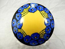 Selten schöne , alte von Hand bemalte Porzellan Deckelose P.M.L  Limoges France