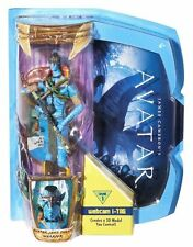AVATAR JAKE SULLY WARRIOR FIGURE WEBCAM I-TAG LEVEL 1 R8919 *MOVIE MASTER*