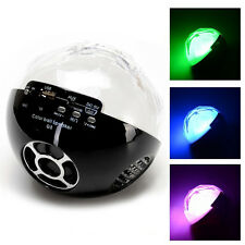 Bluetooth Wireless Mood Light Speaker Ball With Remote Control For iPhone iPad