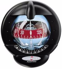 25483 - CONTEST 101 COMPASS-MOUNT INCLINED 10 TO 25 DEGREES-BLACK BEZEL WITH RED