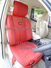 TO FIT A ALFA ROMEO 156 CAR, SEAT COVERS, YMDX 03 ROSSINI SPORTS RED