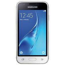 "Samsung Galaxy J1 2016 SM-J120H/DS White (FACTORY UNLOCKED) Dual Sim 4.5"" 5MP"