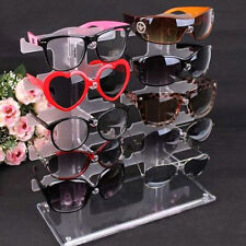 Cool Eyeglasses Sunglasses Glasses Display Stand Holder Rack 2 row 10 Pairs WP