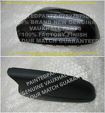 59-2012 N/S RESTAURO Sapphire Nero mk5 Astra H Copertura Specchio PORTA INFERIORE titolare