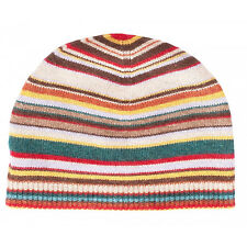 Paul Smith Beanie Hat - Signature Multi-Stripe/ Cashmere mixed/BNWT/RRP:69.00