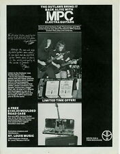 1978 THE OUTLAWS IN A MPC ELECTRA GUITARS AD