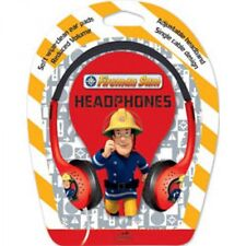 Fireman Sam Childrens Headphones Earphones Kids Reduced Volume Little Star