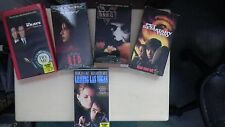 5 VHS Tapes - PET SEMATARY TWO - THE KRAYS - LEAVING LAS VEGAS - 1984 - RED