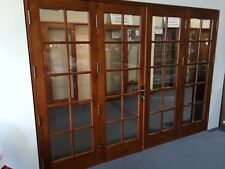 SOLID CEDAR, COLONIAL FRENCH BIFOLD DOORS, COMPLETE & READY TO FIT, PRE ORDER