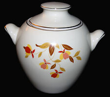 Hall China Autumn Leaf Eva Zeisel Style Big Ear Cookie Jar
