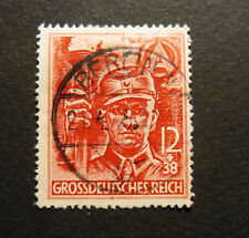 """GERMANIA ,GERMANY1945 D.REICH """" In onore delle S.A."""" 1 valore  USED """"21.4.1945"""""""