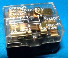5x Omron G4D-287P-BT2-PS-3.6VDC 2 pol wechsel Über 3.6v