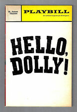 "Martha Raye ""HELLO DOLLY"" Jerry Herman / David Burns '67 Playbill / Ticket Stubs"