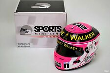 1/2 Jenson Button McLaren 2014 Japanese Grand Prix Helmet F1 Suzuka FLAWED 2016