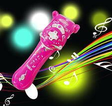 Micrófono inalámbrico Micrófono Karaoke Música canto juguete Niños Niñas Niños