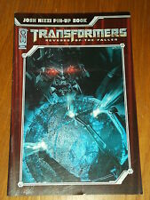 TRANSFORMERS REVENGE OF THE FALLEN JOSH NIZZI PIN-UP BOOK IDW COMICS